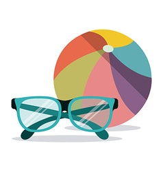 Summer Glasses design vector