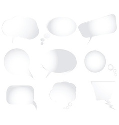 text bubbles vector image