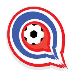 Thailand-footballV vector