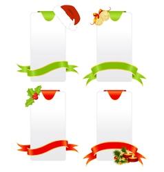 celebratory tablets christmas vector image vector image