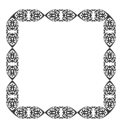 Abstract Ornament Frame vector