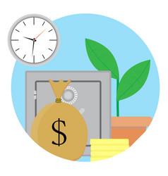 Capitalization and growth capital vector