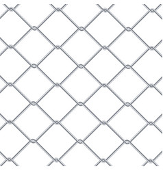 Chain link fence background industrial style vector