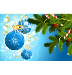 christmas sparkles vector image
