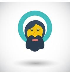 God single icon vector image