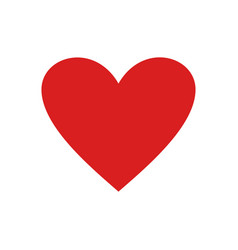 Heart iconred heart vector