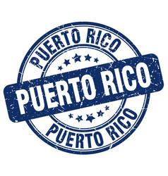Puerto rico stamp vector