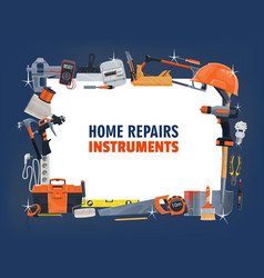 repair tool frame construction carpentry and diy vector image