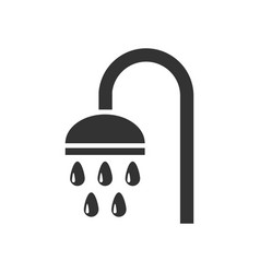 shower icon flat vector image