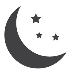 Sleep glyph icon web and mobile night sign vector