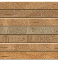 Wooden walls and floor vector image