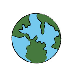 Global world earth map atlas location vector