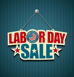 Labor day USA design vector image vector image