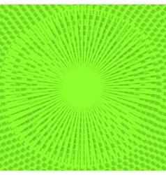 Dominos Green vector image