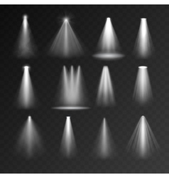 Light sources set vector