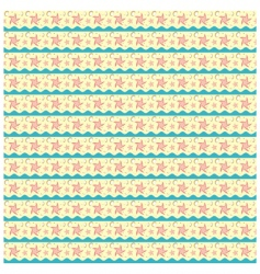 pattern sea vector image vector image