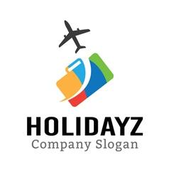 Holidayz vector image