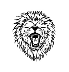 lion graphic vector image