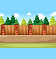 nature road side background vector image
