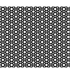 seamless pattern mosaic texture stars pattern vector image