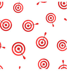 target aim icon seamless pattern background vector image