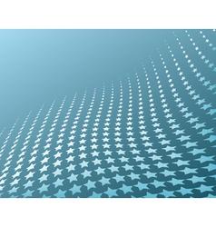star stripes vector image