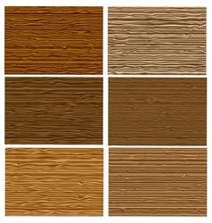 natural tree wood pattern textured set vector image