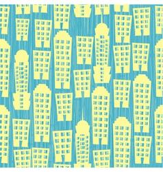 building wallpaper vector image vector image