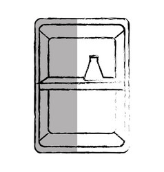 Cabinet medical isolated icon vector