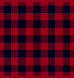 Dark red lumberjack seamless pattern vector