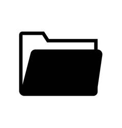 folder icon icon simple element folder symbol vector image