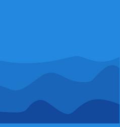 Mount background template design vector