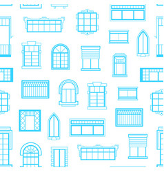 window icons monochrome background pattern vector image