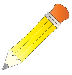 Yellow Pencil vector image
