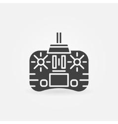 Remote control icon or logo vector