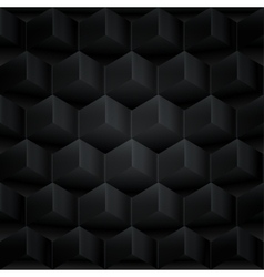 Abstract background 3d cubes vector