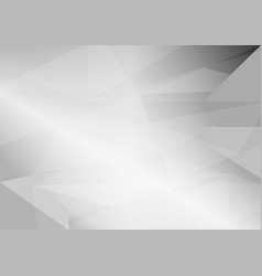 Abstract gray triangular background with copy vector