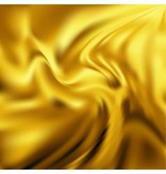 Abstract Texture Yellow Silk vector image