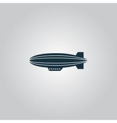 Airship Icon vector