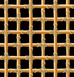 bamboo trellis vector image