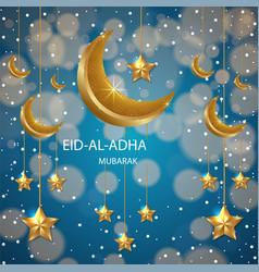 Eid-al- adha background vector
