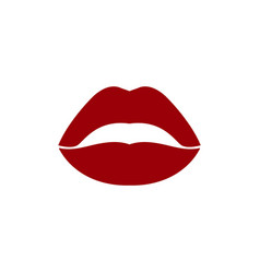 lips icon design template isolated vector image
