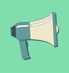 loudspeaker or megaphone icon concept of vector image
