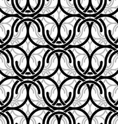 Monochrome vintage style mesh seamless pattern vector