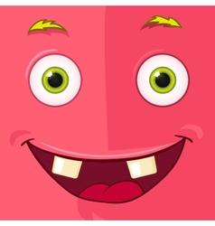 Monster Avatar vector image