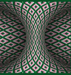 Moving checkered hyperboloid optical vector