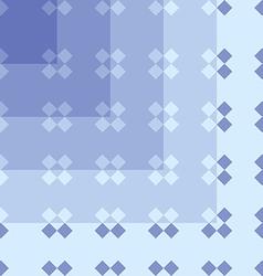 seamless pattern geometric blue vector image