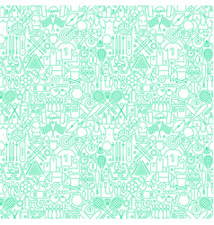 sport line seamless pattern vector image