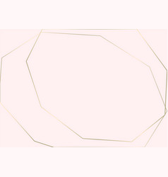 trendy minimal chic gold geometric gradient vector image