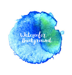watercolor brush stroke vector image